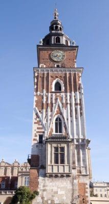 Town Hall Tower in Krakau